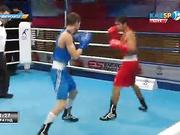 Бокстан Қазақстан чемпионаты: Асылхан Ұзақбаев (56 кг)  қарсыласының қателігін ұтымды пайдаланып жеңіске жетті
