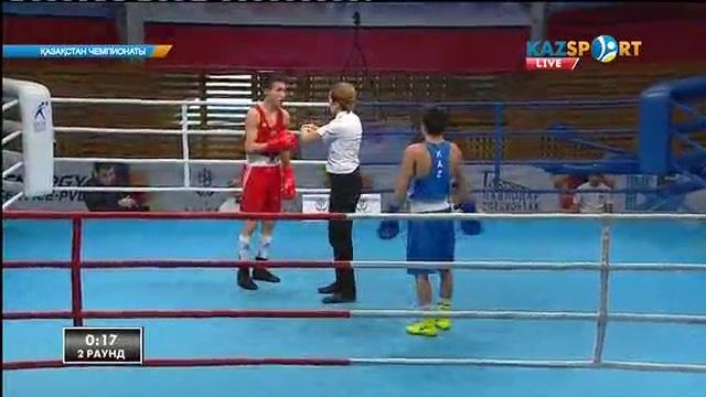 Бокстан Қазақстан чемпионаты: Тартысты жекпе-жекте Ілияс Сүлейменов (56 кг) қарсыласынан басым түсті
