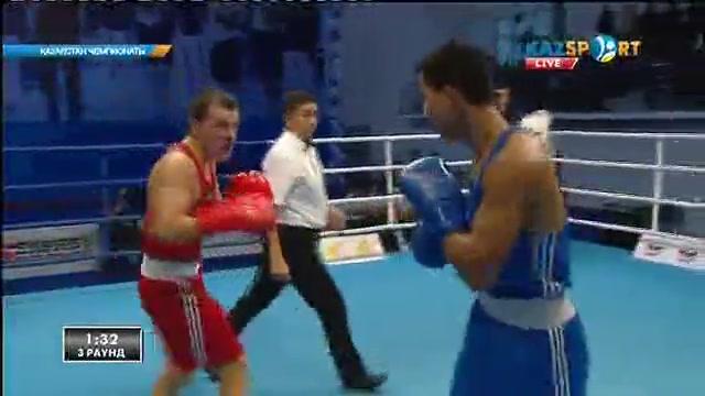 Бокстан Қазақстан чемпионаты: Әбілхан Аманқұл (75 кг) қарсыласын айқын басымдылықпен жеңді