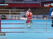 Бокстан Қазақстан чемпионаты: Тәжірибелі Алмазбек Оранғали (75 кг) жекпе-жекте жеңіске жеткеніне қатты қуанды