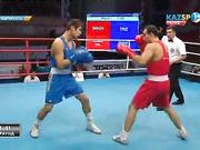 Бокстан Қазақстан чемпионаты: Ерік Әлжанов (75 кг) ел біріншілігіндегі екінші жекпе-жегінде жеңіске жетті