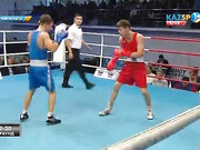 Бокстан Қазақстан чемпионаты: Тартысты жекпе-жекте Оразхан Ергеш (60 кг) қарсыласын жеңді