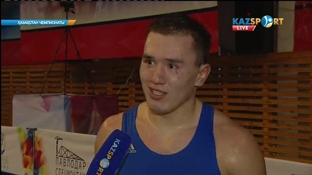 Боксшы Рахман Әлжанов: Барлығын ринг көрсетеді