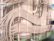 Оңтүстік Қазақстан облысында 80 мегаватт кернеуге шыдас беретін алып трансформатор құрастырылды