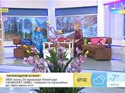 Марафоншы Салтанат Түйтебаев «Таңшолпанда» қонақта