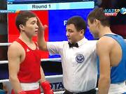 Бокстан Қазақстан чемпионаты: Қайрат Ерәлиев (56 кг) жартылай финалға шықты