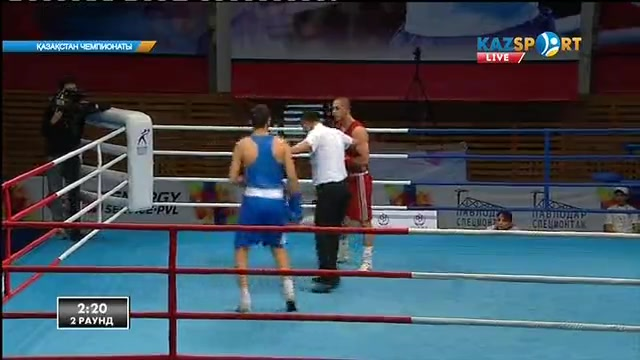 Бокстан Қазақстан чемпионаты. 5 күн. 75 кг
