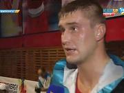 Боксер Антон Пинчук: Сегодня все получилось