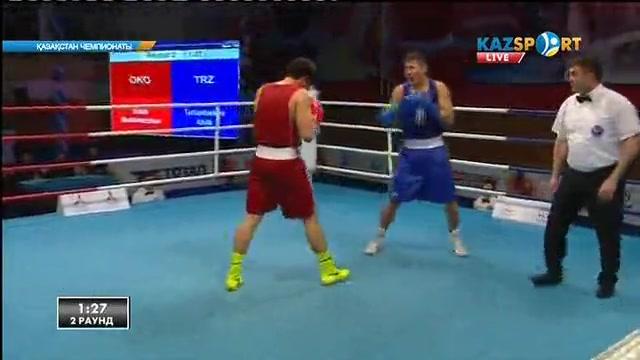 Бокстан Қазақстан чемпионаты. 5 күн. 91 кг