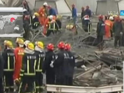 Қытайда құрылыс алаңындағы апаттан 40 адам қаза тапты