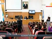 Сенат депутаты Ақан Бижанов алматылық студенттермен кездесті
