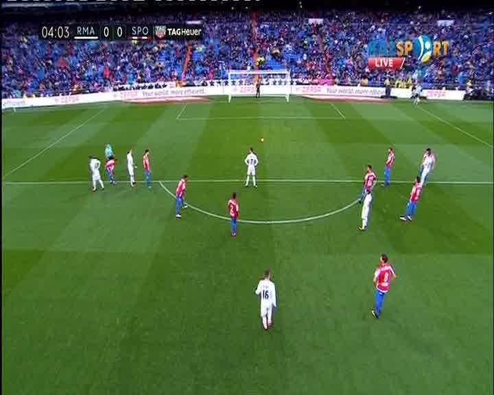 Реал Мадрид - Спортинг Хихон кездесуіне видеошолу