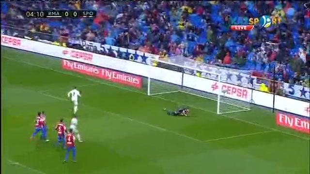 Реал Мадрид - Спортинг Хихон 2:1