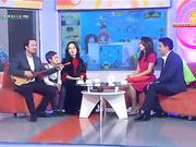 ҚР Еңбек сіңірген қайраткері, белгілі актер Нұркен Өтеуілов және оның отбасы «Бүгін жексенбіде» қонақта