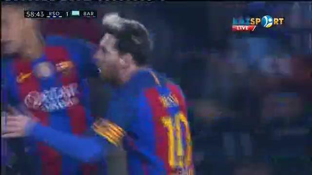Реал Сосьедад - Барселона кездесуіне видеошолу