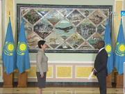 9 мемлекеттің елшісі Мемлекеттік хатшы Гүлшара Әбдіқалықоваға сенім грамоталарын тапсырды