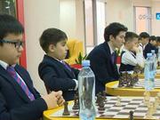 Шахматтан Қазақстанның бес дүркін чемпионы Дәрмен Сәдуақасов оқушылармен кездесті