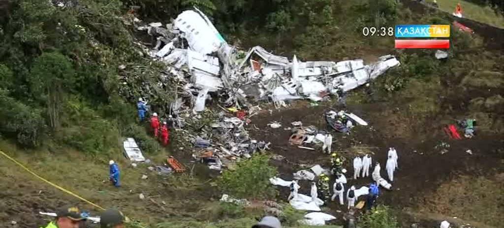Колумбияда ұшақ апатынан 71 адам  қаза тапты