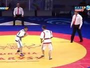 Еуразия Барысы - 2016: Ержан Мағауинов (60 кг) қарсыласынан басым түсті