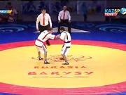 Еуразия Барысы - 2016: Бақдәулет Сәбитов (66 кг) польшалық қарсыласын жеңді