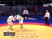 Еуразия Барысы - 2016: Айбек Нұғымаров (+100 кг) ел үмітін ақтауда