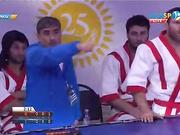 Еуразия Барысы - 2016: Ержан Мағауинов (60 кг) жартылай финалдағы екінші жеңіске қол жеткізді