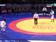 Еуразия Барысы - 2016: Ғалымжан Абдрахманов (74 кг) жанкүйерлерге кезекті жеңісті сыйлады