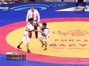 Еуразия Барысы - 2016: Марат Нығыматұллаев (55 кг) финалдағы алғашқы белдесуде жеңіске жетті