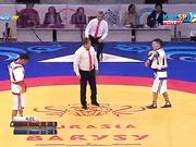 Еуразия Барысы - 2016: Ержан Мағауинов (60 кг) финалдағы екінші жеңіске қол жеткізді (ВИДЕО)