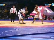 Еуразия Барысы - 2016: Ерсұлтан Мұзапаров қарсыласынан басым түсті