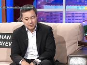 Ақан Сатаев - режиссер. Түнгі студияда Нұрлан Қоянбаев