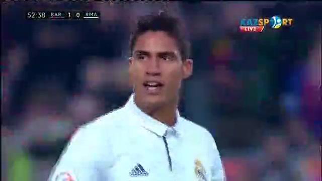 «Барселона» - «Реал»: Луис Суарес есепті ашты - 1:0 (ВИДЕО)