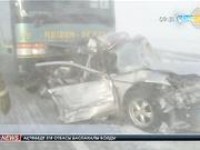 Астана-Көкшетау трассасындағы жол апатынан 4 адам мерт болды