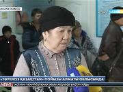 «Тәуелсіз Қазақстан» пойызы Алматы облысында