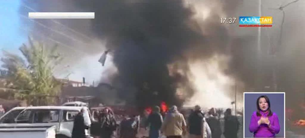 Иракта әуе соққысынан 60-тан астам адам қаза тапты
