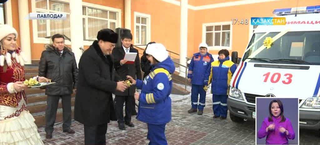 Павлодардың жедел жәрдем қызметіне 6 реанимобиль тапсырылды