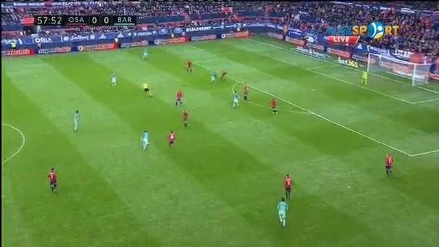 «Осасуна» - «Барселона»: Луис Суарестің голы - 0:1