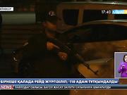 Түркия полициясы бірнеше қалада рейд жүргізіп,  118 адамды тұтқындады