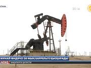 Елімізде мұнай өндірісі 20 мың баррельге шектеледі