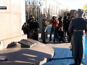 Елбасы «Тәуелсіздіктің 25 жылдығы» монументін ашты