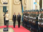 Мемлекет басшысы Израиль премьер-министрі Беньямин Нетаньяхумен екіжақты келіссөздер жүргізді
