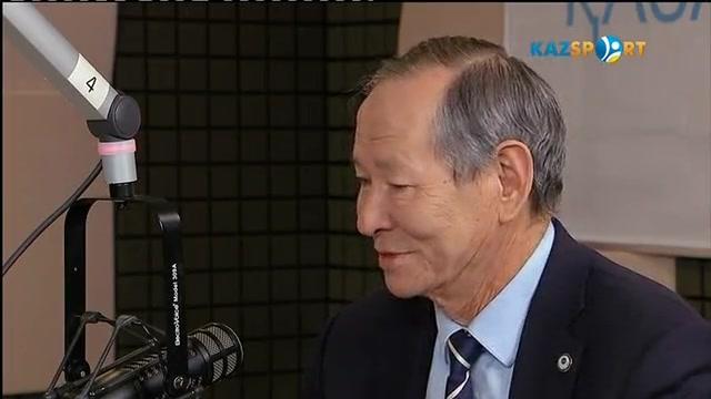 «Казспорт» в гостях у «Казахского радио». Гость программы - Сеильда Икрамович Байшаков