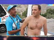 Артур Ардавичус - «Astana Motors» командасының автошабандозы. Түнгі студияда Нұрлан Қоянбаев