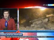 Ақмола облысының Бабатай станциясында жүк пойызы мен электровоз соқтығысты