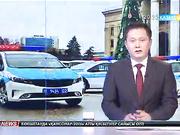 Алматылық полицейлерге 118 жаңа қызметтік автокөліктің кілті табысталды