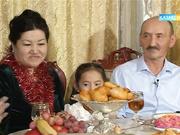 31 желтоқсан 09:00-де «Сенбілік таң» бағдарламасы әнші, актриса  Салтанат Бақаеваның отбасында