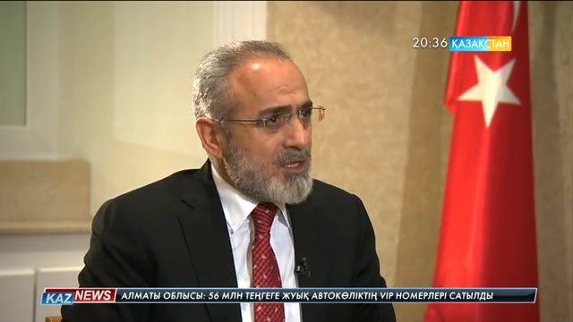 Студия қонағы -  Түркия Президентінің Бас кеңесшісі Ялчын Топчу