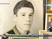 Қарағандылық соғыс ардагерін әскери бөлім қызметкерлері Жаңа жылмен құттықтады