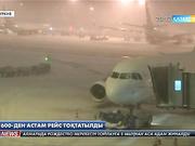 Стамбулдағы  Ататүрік әуежайында ауа райының қолайсыздығынан 600-ден астам рейс тоқтатылды