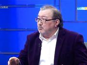 Ақын Ұлықбек Есдәулетов пен композитор Төлеген Мұхамеджанов